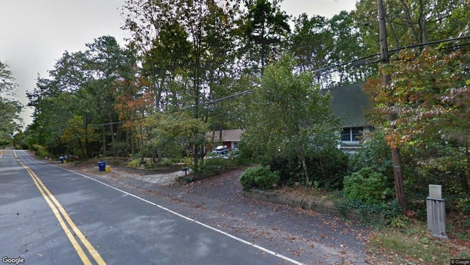 This Google Street View image shows the approximate location of 176 Tuckerton Road in Medford Lakes. The property at this address changed hands in May 2019, when Joseph and Shannon Pezzalo bought the property from Thomas Titus for $223,000.