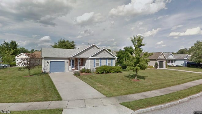 This Google Street View image shows the approximate location of 435 Country Way in East Greenwich. The property at this address changed hands in May 2019, when Michael P Ryan bought the property from Melvin J Stiles Sr. for $159,900.