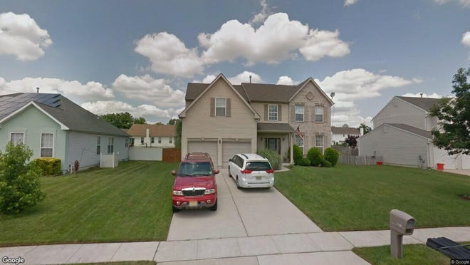 This Google Street View image shows the approximate location of 756 Amber Lane in Vineland. The property at this address changed hands in June 2019, when Lili and Hang Li Luo bought the property from Daniel and Nataliya Blushstein for $257,500.