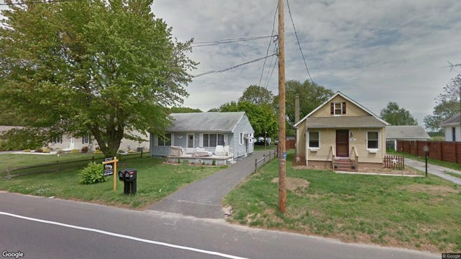 This Google Street View image shows the approximate location of 214 Old Deerfield Pike in Upper Deerfield. The property at this address changed hands in May 2019, when Dawn E Fahrnbach bought the property from Philip C and Jasmyne F Davis for $140,000.