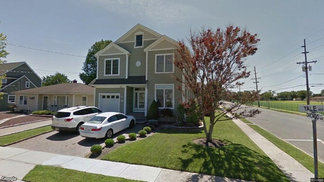This Google Street View image shows the approximate location of 214 Yale Ave. in Point Pleasant Beach. The property at this address changed hands in May 2019, when Jerry Sarfo-Darko Jr. and Angel Sarfo-Darko bought the property from Glenn and Denise Kreiger for $780,000.