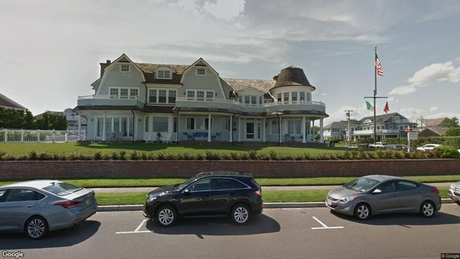 This Google Street View image shows the approximate location of 2021 Ocean Ave. in Spring Lake. The property at this address changed hands in June 2019, when 2021 Ocean Avenue, LLC bought the property from Marie E Reed for $12,000,000.