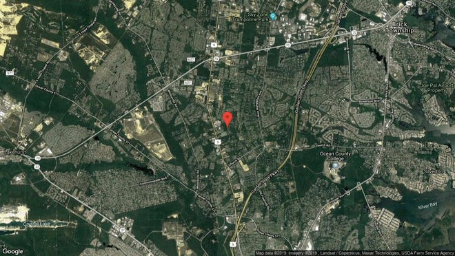 This aerial photo shows the approximate location of 1928 Vermont Ave. in Toms River. The property at this address changed hands in June 2019, when Douglas U Rosenthal bought the property from Sean D and Kim L Kauffman for $510,000.