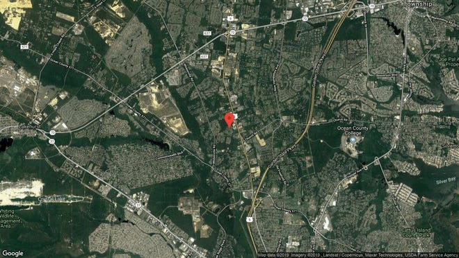 This aerial photo shows the approximate location of 152 Newington Lane in Toms River. The property at this address changed hands in June 2019, when Hadassa and Yisroel D Katz bought the property from Thomas and Jude Ann Carlock for $630,000.
