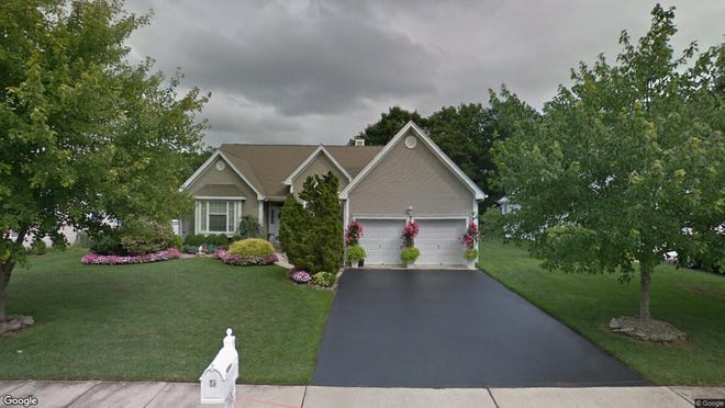 This Google Street View image shows the approximate location of 31 Crown Circle in Lakewood. The property at this address changed hands in June 2019, when Calvin Stewart Sr. bought the property from Camille De Santis for $348,000.