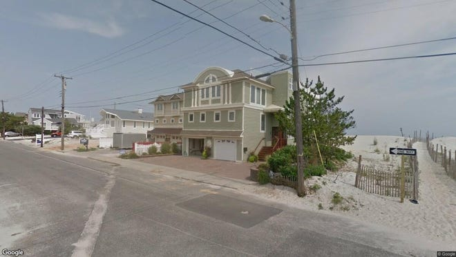 This Google Street View image shows the approximate location of 917 S. Atlantic Ave. in Beach Haven. The property at this address changed hands in June 2019, when Thomas D and Julianne E Fleming bought the property from Barbara Reale for $2,500,000.