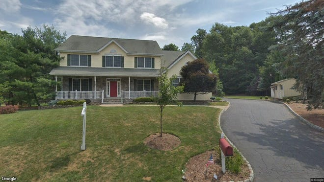 This Google Street View image shows the approximate location of 21 Longview Court in Old Tappan. The property at this address changed hands in June 2019, when new owners bought the property for $920,000.