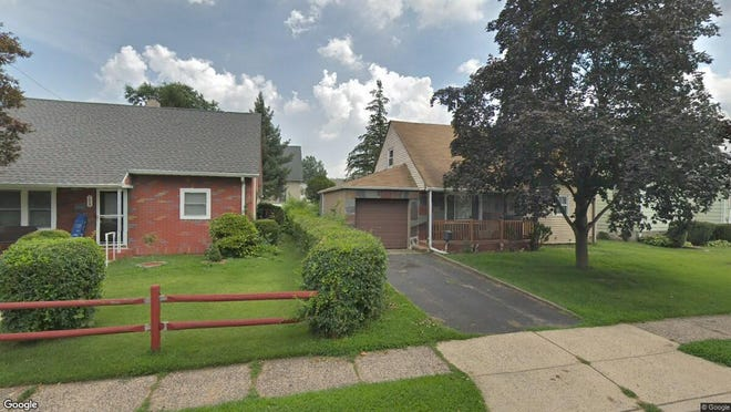 This Google Street View image shows the approximate location of 174 Mt Pleasant Ave. in Wallington. The property at this address changed hands in June 2019, when Joseph C and Shana L Dinatale bought the property from Robert(J) and Denise D'Elia for $377,000.