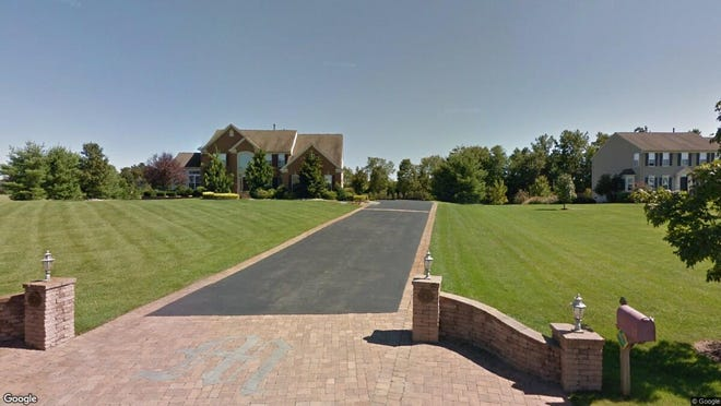 This Google Street View image shows the approximate location of 6 Brynne's Court in Lumberton. The property at this address changed hands in July 2019, when new owners bought the property for $725,000.
