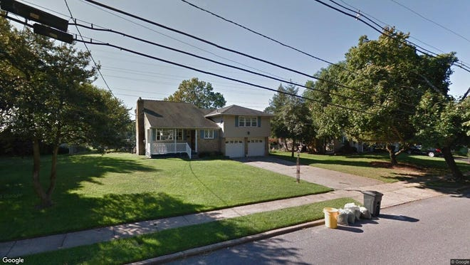 This Google Street View image shows the approximate location of 906 Hilltop Road in Cinnaminson. The property at this address changed hands in September 2019, when new owner bought the property for $153,000.