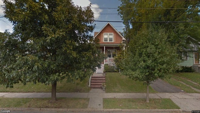 This Google Street View image shows the approximate location of 555 Washington Terrace in Audubon. The property at this address changed hands in June 2019, when new owners bought the property for $255,000.