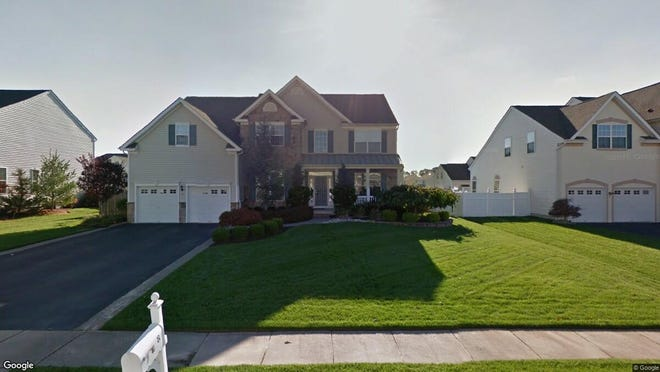 This Google Street View image shows the approximate location of 8 Cambridge Lane in Winslow. The property at this address changed hands in June 2019, when new owner bought the property for $321,500.