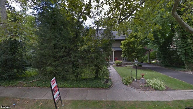 This Google Street View image shows the approximate location of 408 Chews Landing Road in Haddonfield. The property at this address changed hands in June 2019, when new owners bought the property for $1,165,000.