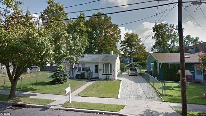 This Google Street View image shows the approximate location of 128 N. Hilltop Av in Somerdale. The property at this address changed hands in May 2019, when new owner bought the property for $70,000.