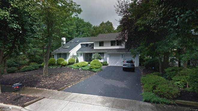 This Google Street View image shows the approximate location of 84 Timberline Drive in Voorhees. The property at this address changed hands in June 2019, when new owners bought the property for $425,000.