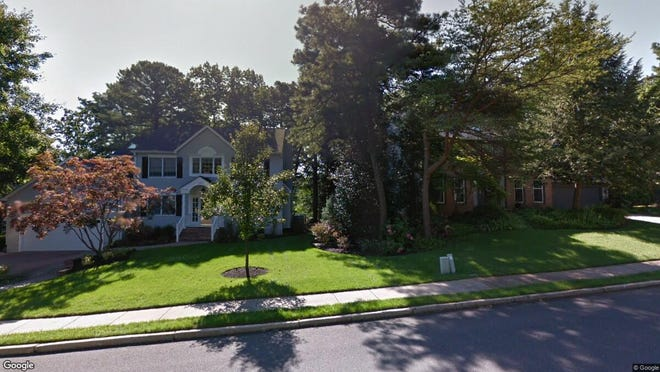 This Google Street View image shows the approximate location of 174 Wm Feather Drive in Voorhees. The property at this address changed hands in July 2019, when new owner bought the property for $492,000.