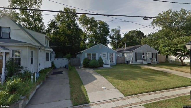 This Google Street View image shows the approximate location of 8418 River Road in Pennsauken. The property at this address changed hands in July 2019, when new owner bought the property for $160,000.