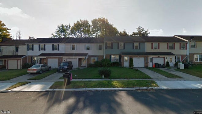 This Google Street View image shows the approximate location of 1708 Winding Way in Gloucester Township. The property at this address changed hands in August 2019, when new owner bought the property for $150,500.