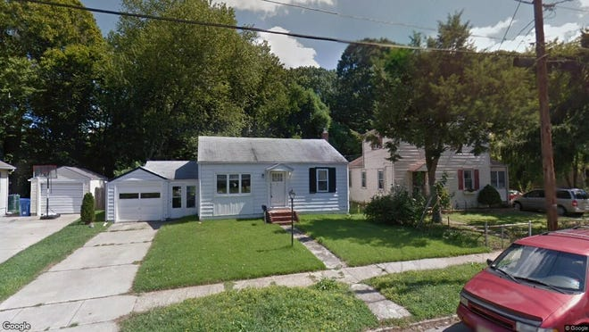 This Google Street View image shows the approximate location of 64 Edison Road in Cherry Hill. The property at this address changed hands in July 2019, when new owner bought the property for $147,500.
