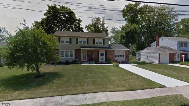 This Google Street View image shows the approximate location of 210 Mcintosh Road in Cherry Hill. The property at this address changed hands in July 2019, when new owners bought the property for $317,500.