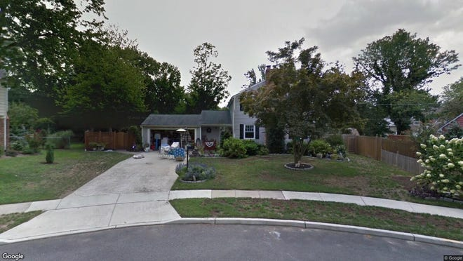 This Google Street View image shows the approximate location of 1328 Shelly Lane in Cherry Hill. The property at this address changed hands in July 2019, when new owners bought the property for $360,000.