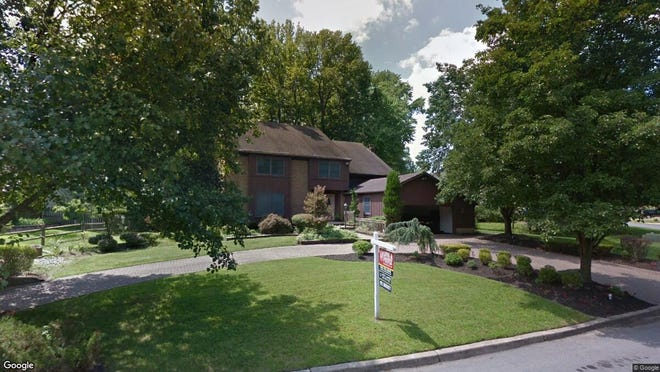 This Google Street View image shows the approximate location of 1230 Sequoia Road in Cherry Hill. The property at this address changed hands in July 2019, when new owner bought the property for $450,000.