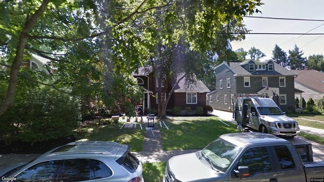 This Google Street View image shows the approximate location of 148 Hawthorne Ave. in Haddonfield. The property at this address changed hands in August 2019, when new owners bought the property for $825,000.