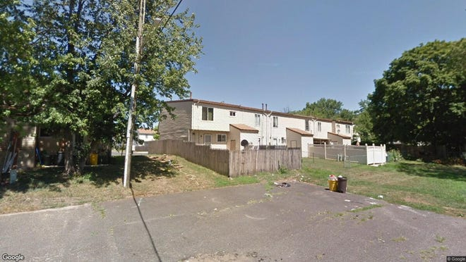This Google Street View image shows the approximate location of 4308 Johnson Court in Pennsauken. The property at this address changed hands in August 2019, when new owners bought the property for $78,000.