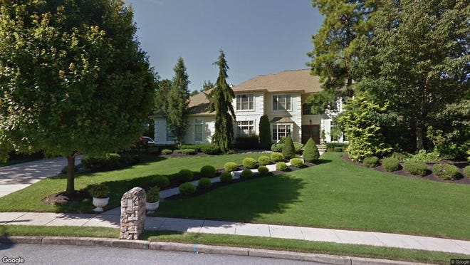 This Google Street View image shows the approximate location of 5 Danforth Drive in Voorhees. The property at this address changed hands in June 2019, when new owners bought the property for $815,000.