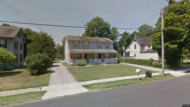 This Google Street View image shows the approximate location of 214 S. Delsea Drive in Clayton. The property at this address changed hands in August 2019, when new owners bought the property for $210,000.