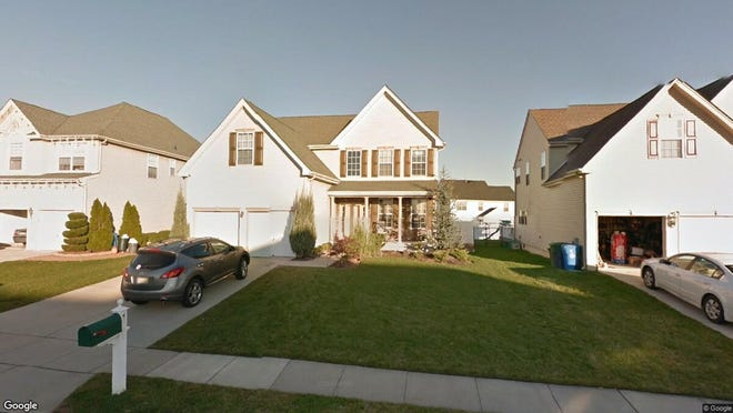 This Google Street View image shows the approximate location of 104 Westminster Drive in Woolwich. The property at this address changed hands in August 2019, when new owners bought the property for $375,900.