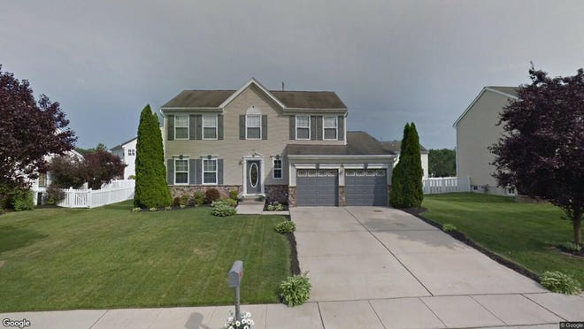 This Google Street View image shows the approximate location of 158 Landing Drive in Deptford. The property at this address changed hands in July 2019, when new owners bought the property for $307,000.