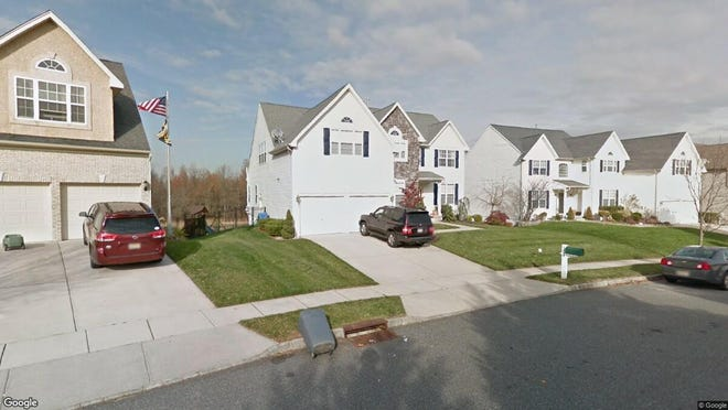 This Google Street View image shows the approximate location of 120 Delaware Xing in Woolwich. The property at this address changed hands in September 2019, when new owners bought the property for $426,000.