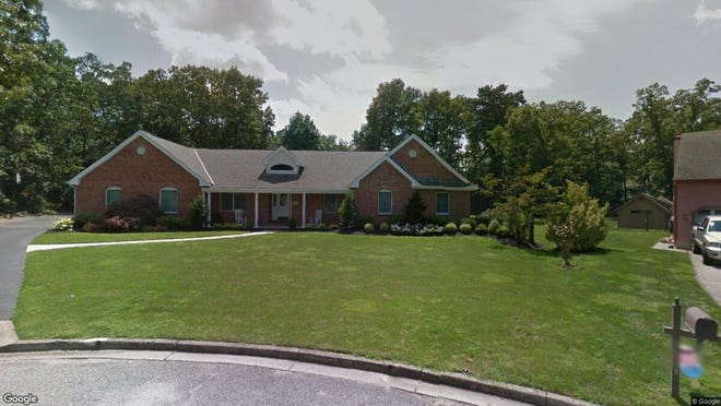 This Google Street View image shows the approximate location of 1703 Green Valley Court in Vineland. The property at this address changed hands in July 2019, when new owners bought the property for $388,500.