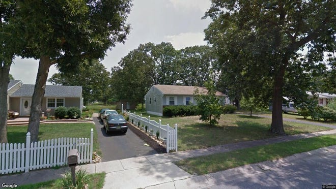 This Google Street View image shows the approximate location of 1697 Caitlin Drive in Vineland. The property at this address changed hands in July 2019, when new owner bought the property for $145,000.