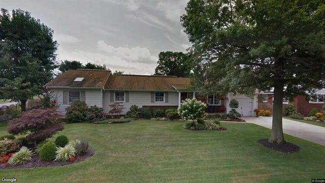 This Google Street View image shows the approximate location of 1121 Sharp Road in Vineland. The property at this address changed hands in August 2019, when new owners bought the property for $246,000.