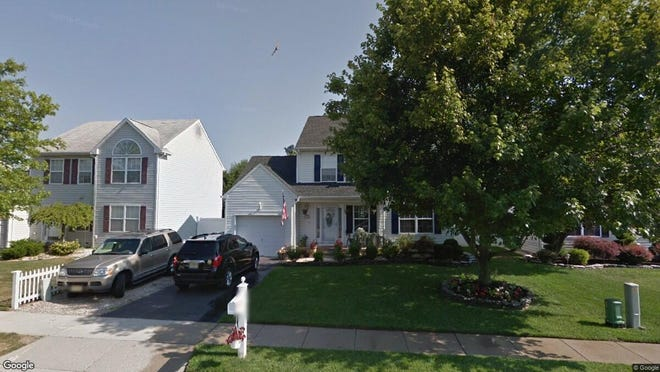 This Google Street View image shows the approximate location of 19 Red Maple Drive in Brick. The property at this address changed hands in July 2019, when new owners bought the property for $349,000.
