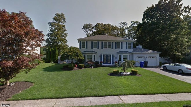 This Google Street View image shows the approximate location of 223 Antoinette Court in Brick. The property at this address changed hands in July 2019, when new owners bought the property for $465,000.