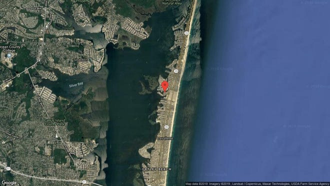 This aerial photo shows the approximate location of 3349 Moonrise Lane in Toms River. The property at this address changed hands in June 2019, when new owners bought the property for $625,000.