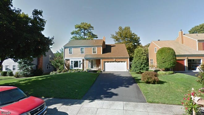 This Google Street View image shows the approximate location of 1408 Weeping Willow Court in Toms River. The property at this address changed hands in May 2019, when new owners bought the property for $410,000.