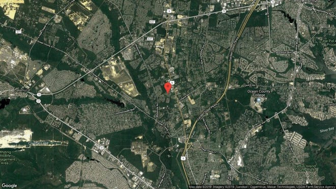 This aerial photo shows the approximate location of 119 Newington Lane in Toms River. The property at this address changed hands in June 2019, when new owner bought the property for $560,000.