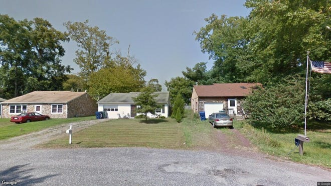 This Google Street View image shows the approximate location of 115 Vulcan Way in Little Egg Harbor. The property at this address changed hands in June 2019, when new owner bought the property for $123,500.