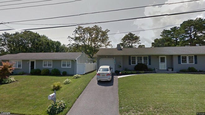 This Google Street View image shows the approximate location of 342 Spruce Drive in Brick. The property at this address changed hands in July 2019, when new owners bought the property for $283,000.