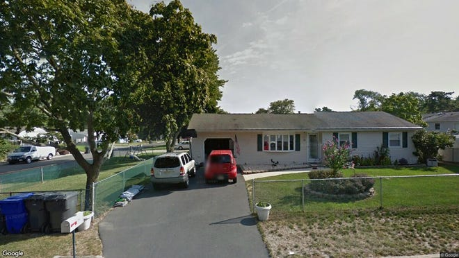 This Google Street View image shows the approximate location of 295 Newark Drive in Brick. The property at this address changed hands in July 2019, when new owners bought the property for $260,295.