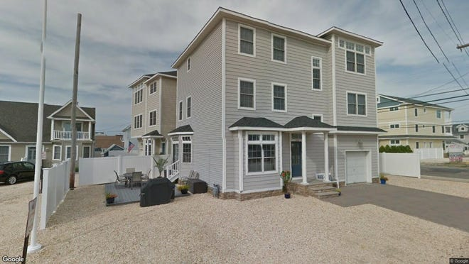 This Google Street View image shows the approximate location of 100 N. Bayside Road in Toms River. The property at this address changed hands in July 2019, when new owners bought the property for $820,000.