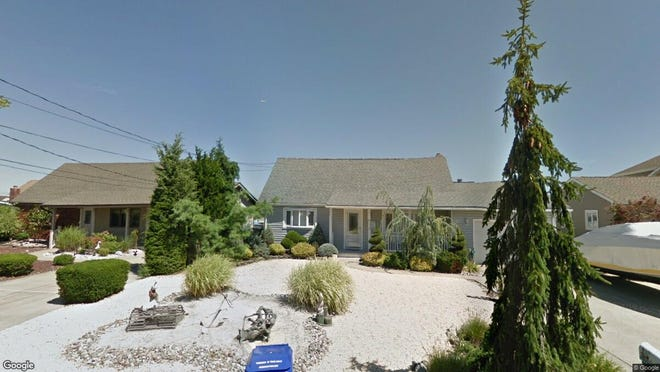 This Google Street View image shows the approximate location of 1878 Windward Court in Toms River. The property at this address changed hands in July 2019, when new owners bought the property for $540,000.