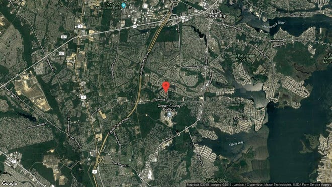 This aerial photo shows the approximate location of 19 Mt Logan Lane in Toms River. The property at this address changed hands in June 2019, when new owners bought the property for $176,000.