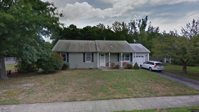 This Google Street View image shows the approximate location of 48 Bay Bridge Drive in Brick. The property at this address changed hands in July 2019, when new owners bought the property for $315,000.
