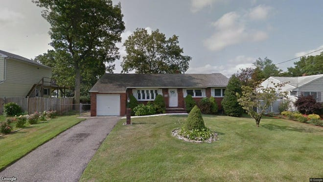 This Google Street View image shows the approximate location of 112 Winchester Drive in Brick. The property at this address changed hands in July 2019, when new owners bought the property for $385,000.