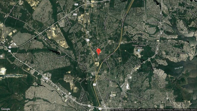This aerial photo shows the approximate location of 1586 Penbrook Court in Toms River. The property at this address changed hands in July 2019, when new owners bought the property for $420,000.